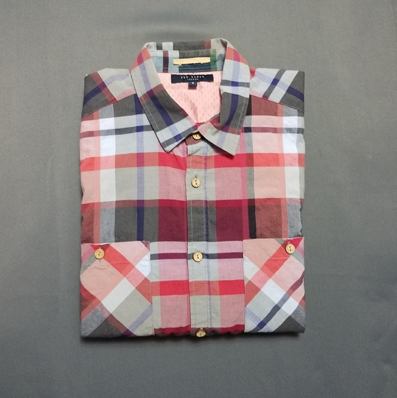 Ted Baker London • Size 3 Button Up Shirt
